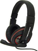 Słuchawki Z Mikrofonem Esperanza Czarno-Czerwony Eh118