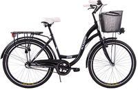 (K14) Rower miejski damski Kozbike 26 czarny 3-biegi
