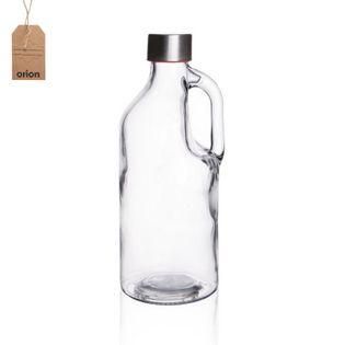 Butelka szklana RETRO z zakrętką i uchem 1,15L