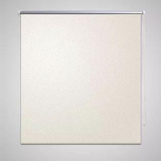 Roleta zaciemniająca, 80 x 175 cm, złamana biel