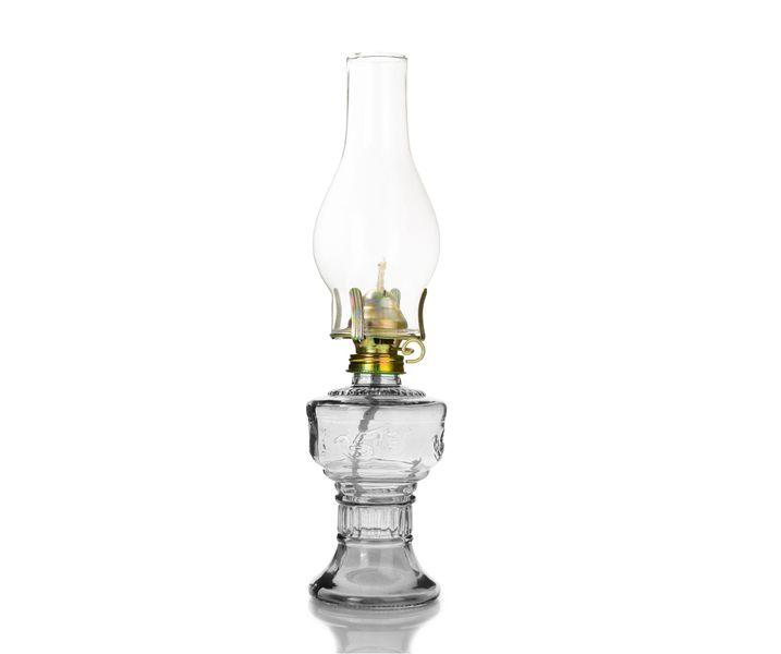 LAMPA NAFTOWA 33 cm (555) - transparent zdjęcie 1