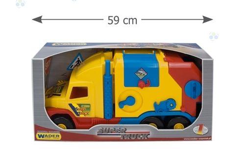 Super Truck Śmieciarka krótka WADER 36580 #A1 zdjęcie 6