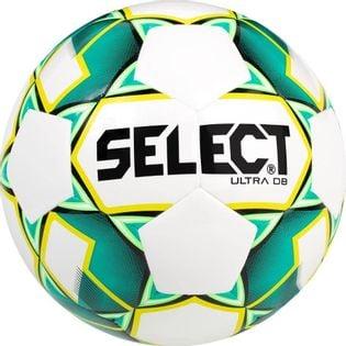 Piłka nożna Select Ultra DB 5 2019 biało-zielono-żółta 14995