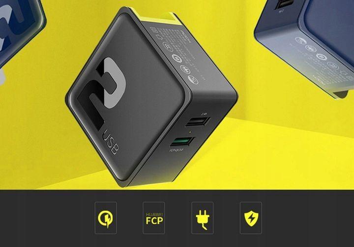 Ładowarka Sieciowa USB ROCK Quick Charge 3.0 30W zdjęcie 7