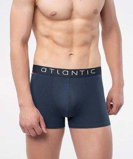 Atlantic - Szorty Męskie Solid