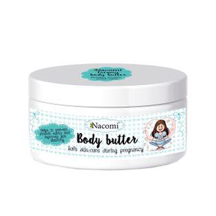 Kremowe Masło do Ciała dla Kobiet w Ciąży - 100g - Nacomi