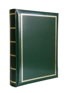 ALBUM, albumy na zdjęcia CDSSP szyty 200 zdjęć 15x21 cm opis CL zieleń