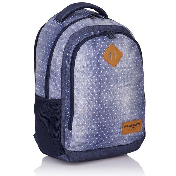 Plecak szkolny młodzieżowy Astra Head HD-07, w groszki zdjęcie 1