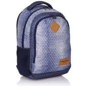 Plecak szkolny młodzieżowy Astra Head HD-07, w groszki