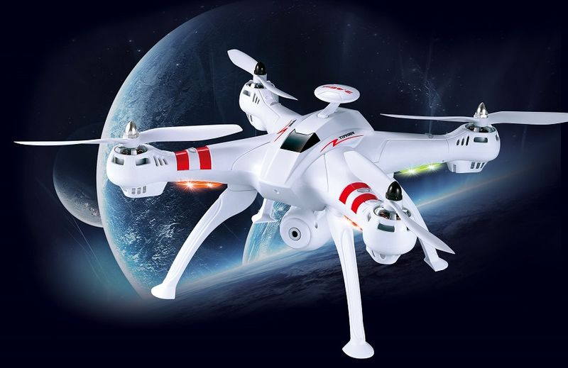 DRON TYPHON X15 z Kamerą WiFi na telefon 4000mAh (2xAku) Z184Z zdjęcie 8