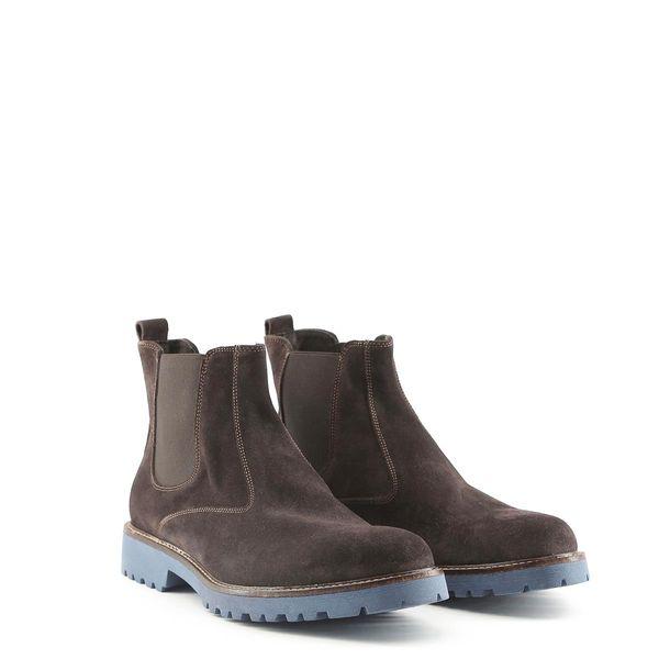 dad15e87e1560 Made in Italia skórzane buty męskie sztyblety brązowy 41 • Arena.pl