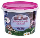 SIL-FAS fasadowa farba silikonowa elewacyjna Kolor - Świeża trawa, Opakowanie - 10 Litrów zdjęcie 4