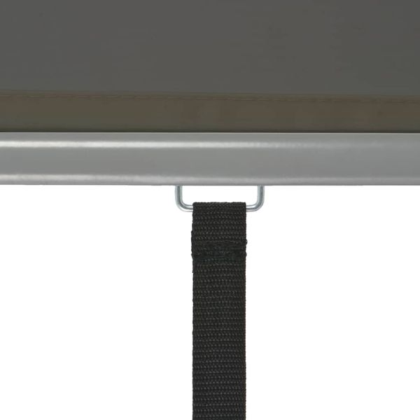 Wielofunkcyjna markiza boczna, balkonowa, 180 x 200 cm, szara GXP-680863 zdjęcie 6