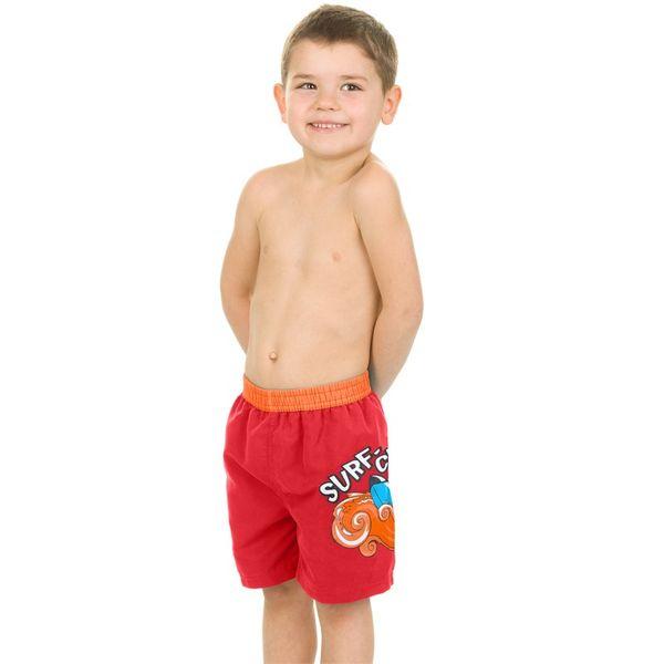Szorty pływackie SURF-CLUB Kolor - Stroje męskie - Surf-club - 31 - czerwony, Rozmiar - Stroje dziecięce - 122 (6A) zdjęcie 1