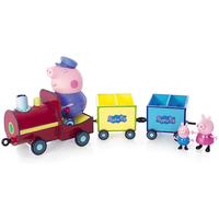 Świnka Peppa i przyjaciele - Pociąg z trzema figurkami 05034