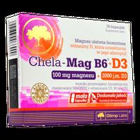 Olimp Chela-Mag B6 + D3 30 kaps.