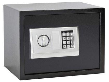 Sejf domowy z zamkiem elektronicznym 35x25x25cm