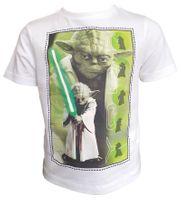 T-Shirt Star Wars White 10Y r140 Licencja Disney LucasFilm (QE1024)