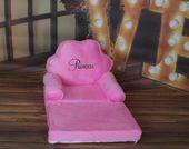 Fotelik dziecięcy pufa fotel dwa kolory zdjęcie 4