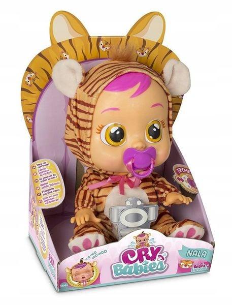 TM TOYS CRY BABIES Płaczący bobas NALA Tygrysek zdjęcie 4