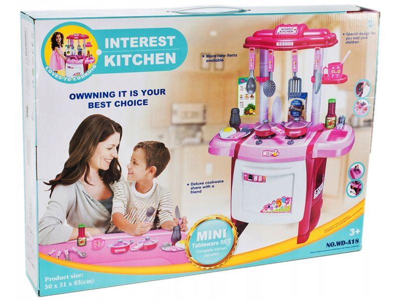 Kuchnia dla dzieci Piekarnik Zlew + Akcesoria Y162 zdjęcie 11