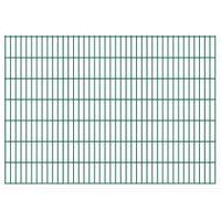 VidaXL 2D Panele ogrodzeniowe 2008x1430 mm 14 m zielone