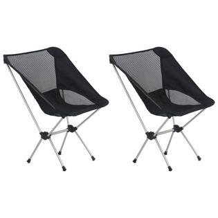 Składane Krzesła Turystyczne, 2 Szt., Z Torbą, 54 X 50 X 65 Cm