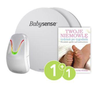 Monitor oddechu BABYSENSE 7 + Poradnik dla rodziców