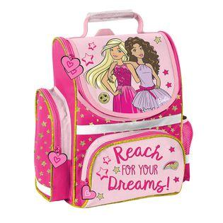 Lekki tornister szkolny różowy Barbie, Paso