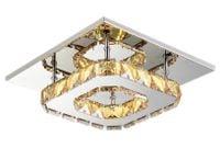 Lampa panel plafon Kinkiet kryształki LED 12W  20x20cm 664638