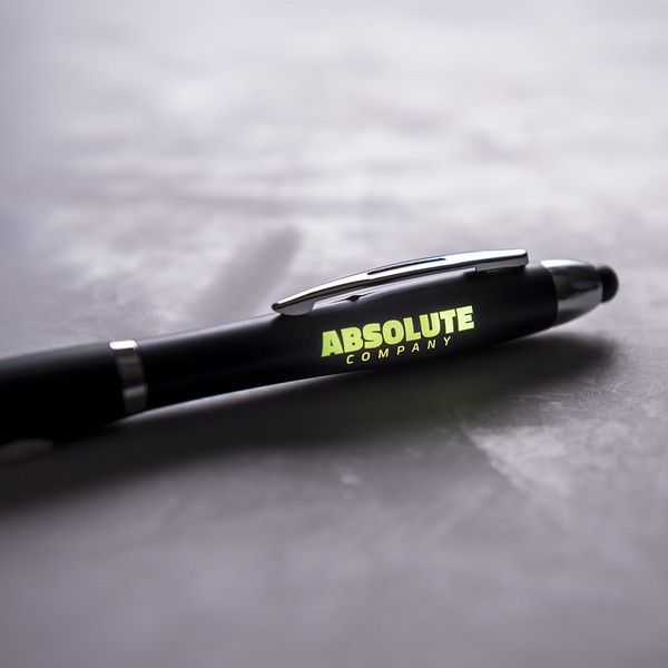 Długopis ze Wskaźnikiem LED 145974 Czarny zdjęcie 1