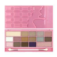 I Heart Makeup Palette Zestaw cieni do powiek Chocolate Pink Fizz  22g (16 kolorów)