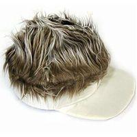 czapka ROZCZOCHRANA z włosami peruki gadżety