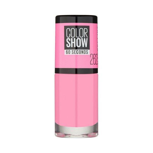 lakier do paznokci Color Show Maybelline 357 - burgundy kiss zdjęcie 10