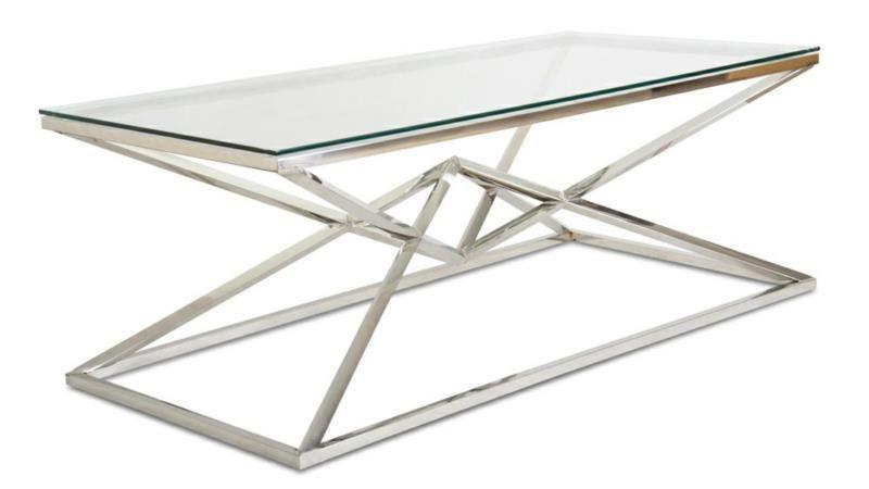 Stolik kawowy ława stół blat szkło hartowane zdjęcie 4