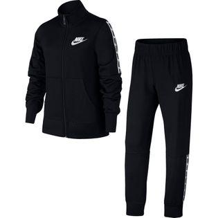 Dres dla dzieci Nike G TRK Suit Tricot czarny 939456 010 XS