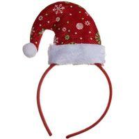 OPASKA świąteczna CZAPECZKA MIKOŁAJA elfa święta