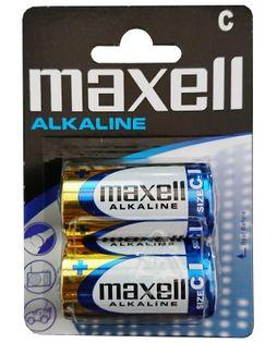 Baterie alkaliczne LR14 1,5V Maxell 2 sztuki