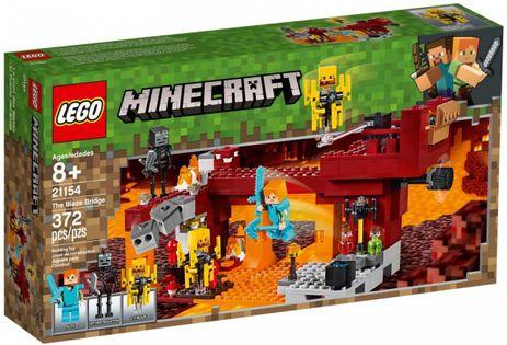 LEGO MINECRAFT 21154 Most Płomyków