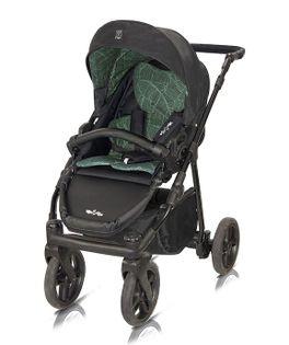 Wózek spacerowy Fiori Milu Kids czarno- zielony