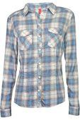 H&M Błękitna Koszula w Kratę - 32 / XXS