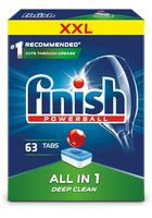 Finish all in 1 tabletki do zmywarki 63 sztuk regularne