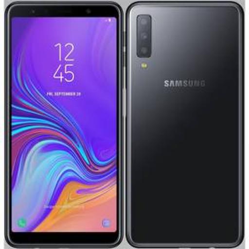 Telefon komórkowy Samsung Galaxy A7 Dual SIM (SM-A750FZKUXEZ) Czarny zdjęcie 2