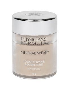 Physicians Formula Mineral Wear SPF15 Puder 12g Translucent Light