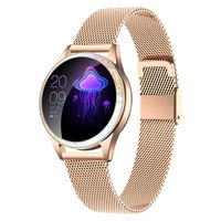 Smartwatch damski Rubicon RNBE45 różowe złoto