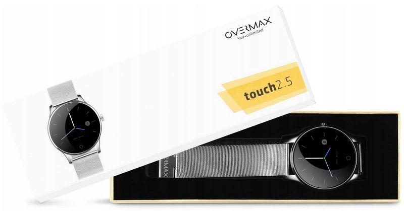 Zegarek SMARTWATCH Overmax TOUCH 2.5 IP54 2x PASEK zdjęcie 2