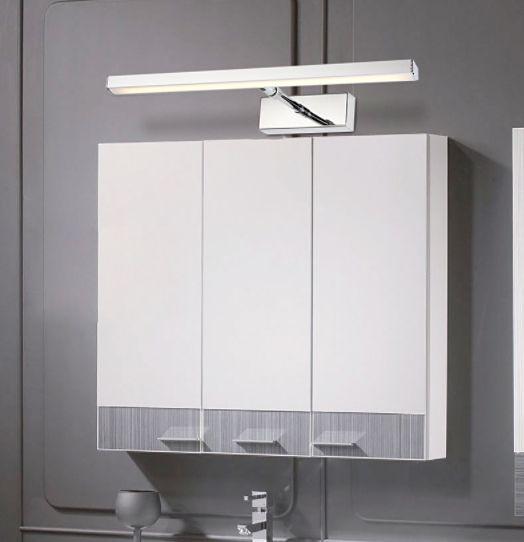 Lampa nad lustro Kinkiet łazienkowy LED 39cm 7W Regulacja Ramienia na Arena.pl