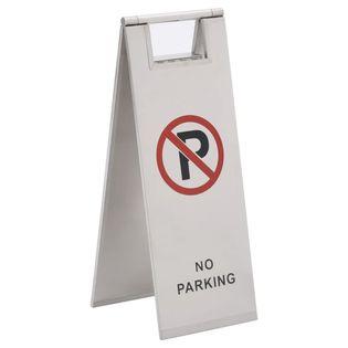 Lumarko Składane oznakowanie parkingowe, stal nierdzewna!