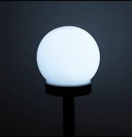 SOLARNA LAMPA OGRODOWA LED - ZIMNA BIEL - 10 CM