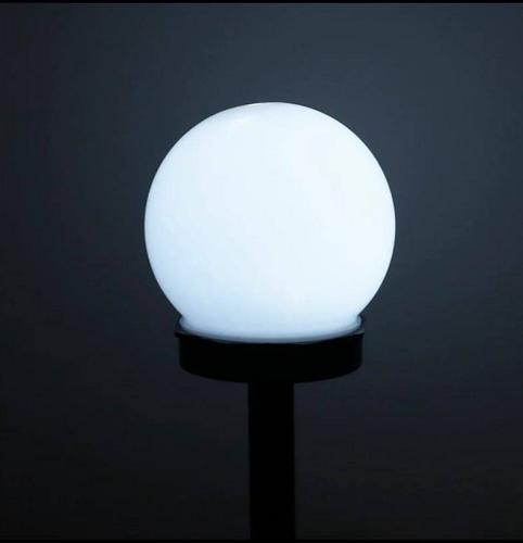 SOLARNA LAMPA OGRODOWA LED - ZIMNA BIEL - 10 CM na Arena.pl